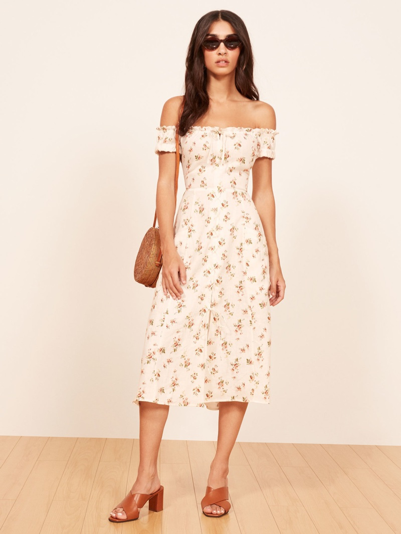 Lovely Linen: 7 Linen Dresses From Reformation