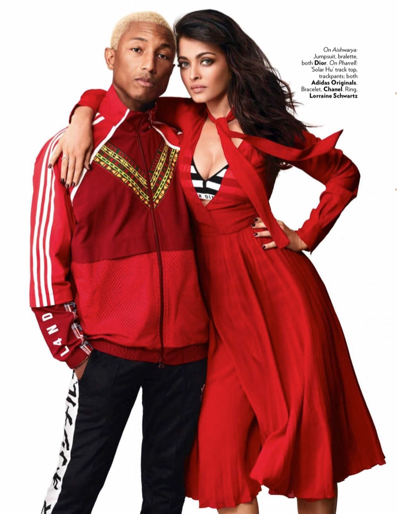 Aishwarya Rai & Pharrell Williams Join Forces for Vogue India Cover Story