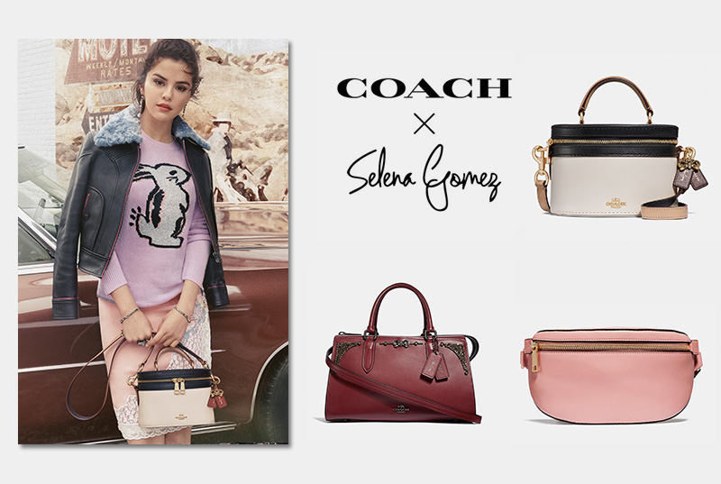 New Arrivals: Selena Gomez x Coach's Fall 2018 Collection