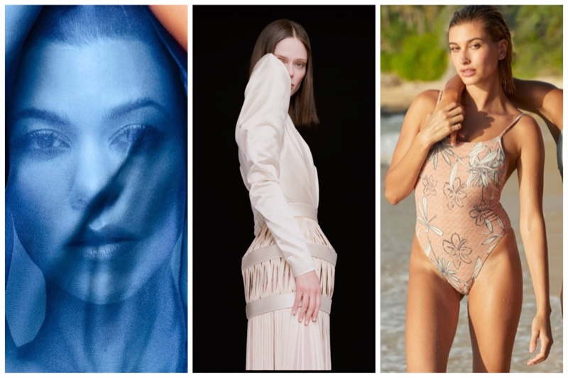 Week in Review | Coco Rocha's New Cover, Hailey Baldwin for ROXY, Kourtney Kardashian in Vogue Mexico + More