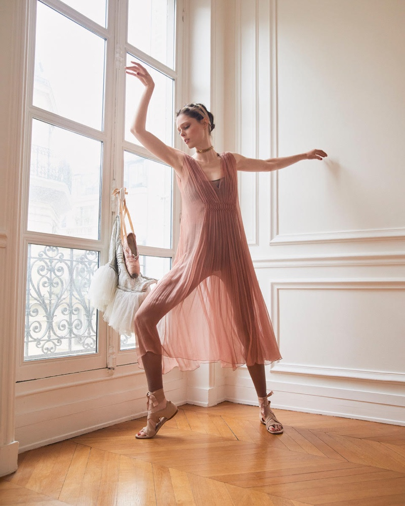 Coco Rocha Shows Off Her Dance Moves for ELLE Czech