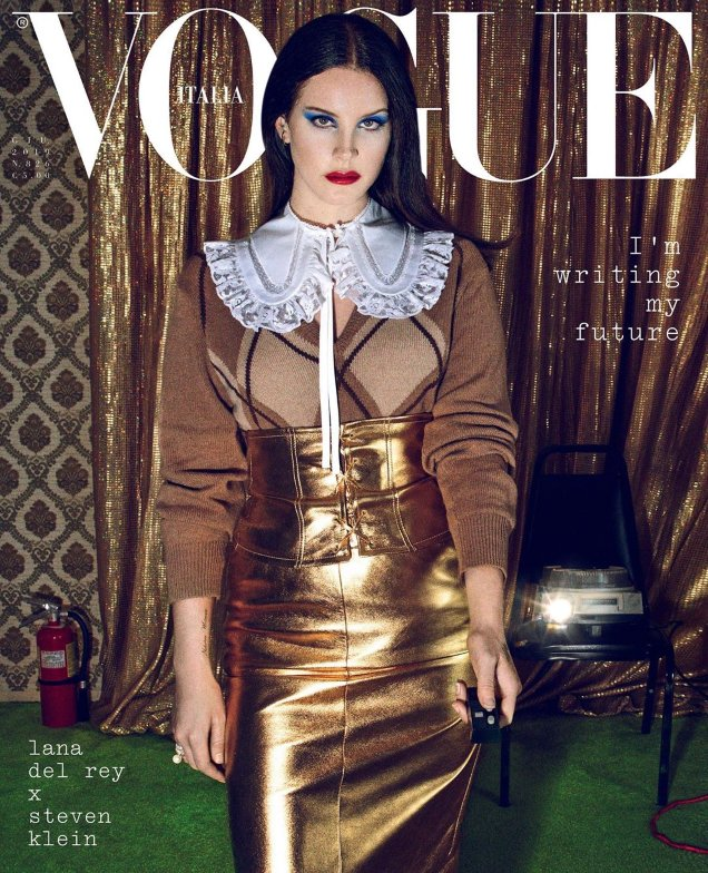 Vogue Italia June 2019 : Lana Del Rey by Steven Klein