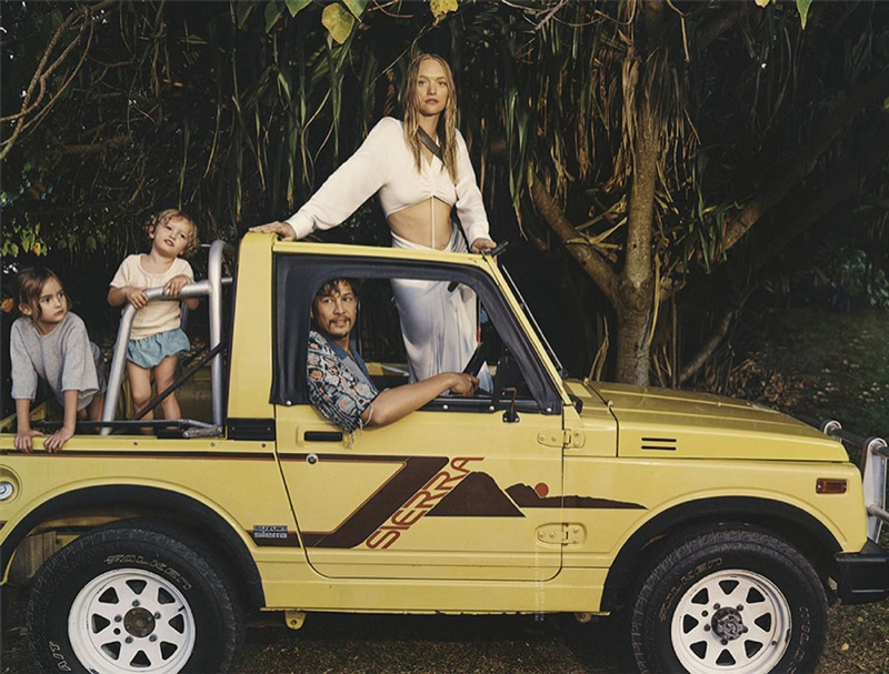 Gemma Ward and Her Family Explore Bryon Bay for Vogue Australia