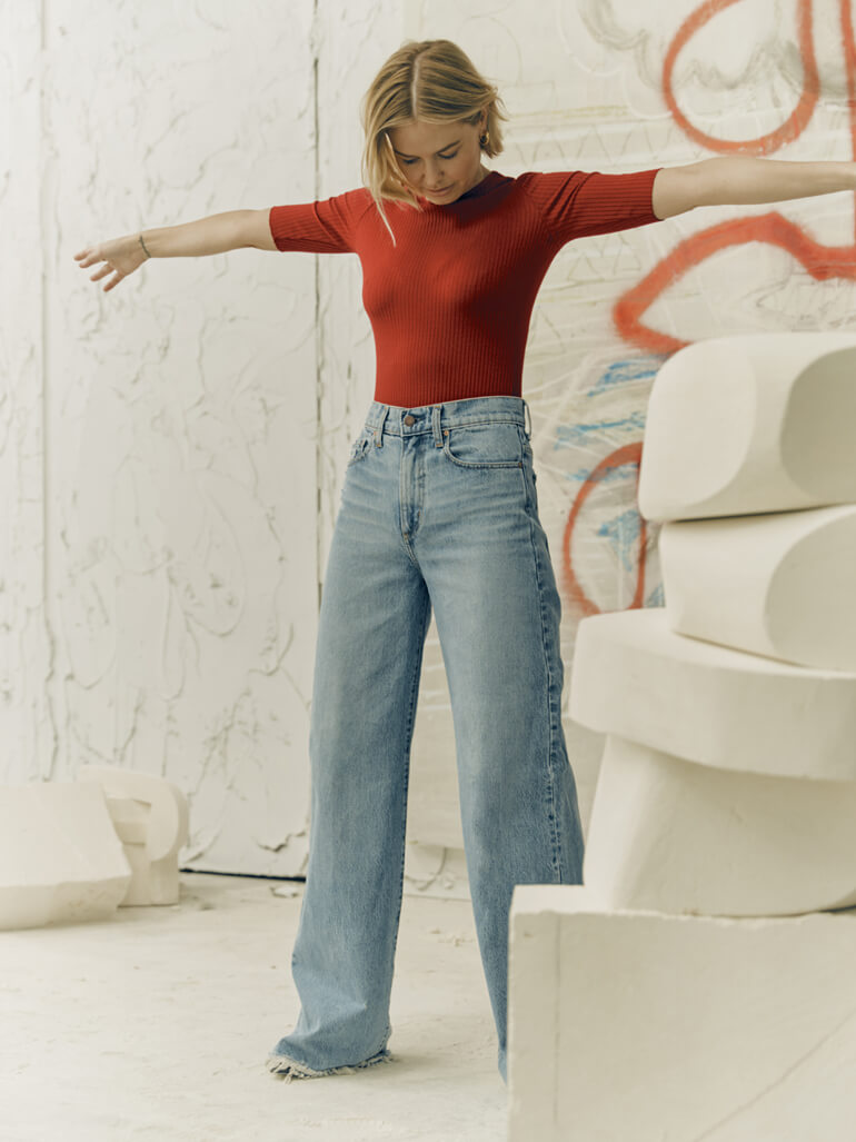 Lara Worthington Stars In Nobody Denim's 20th Anniversary Collection
