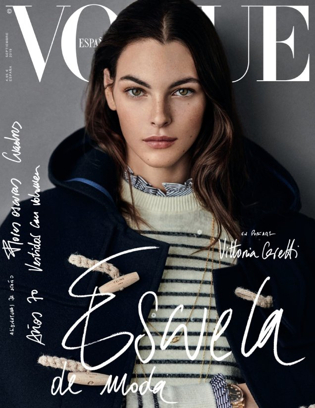 Vogue España September 2019 : Vittoria Ceretti by Giampaolo Sgura